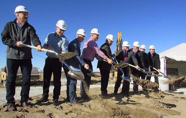 Interstate Warehousing Groundbreaking