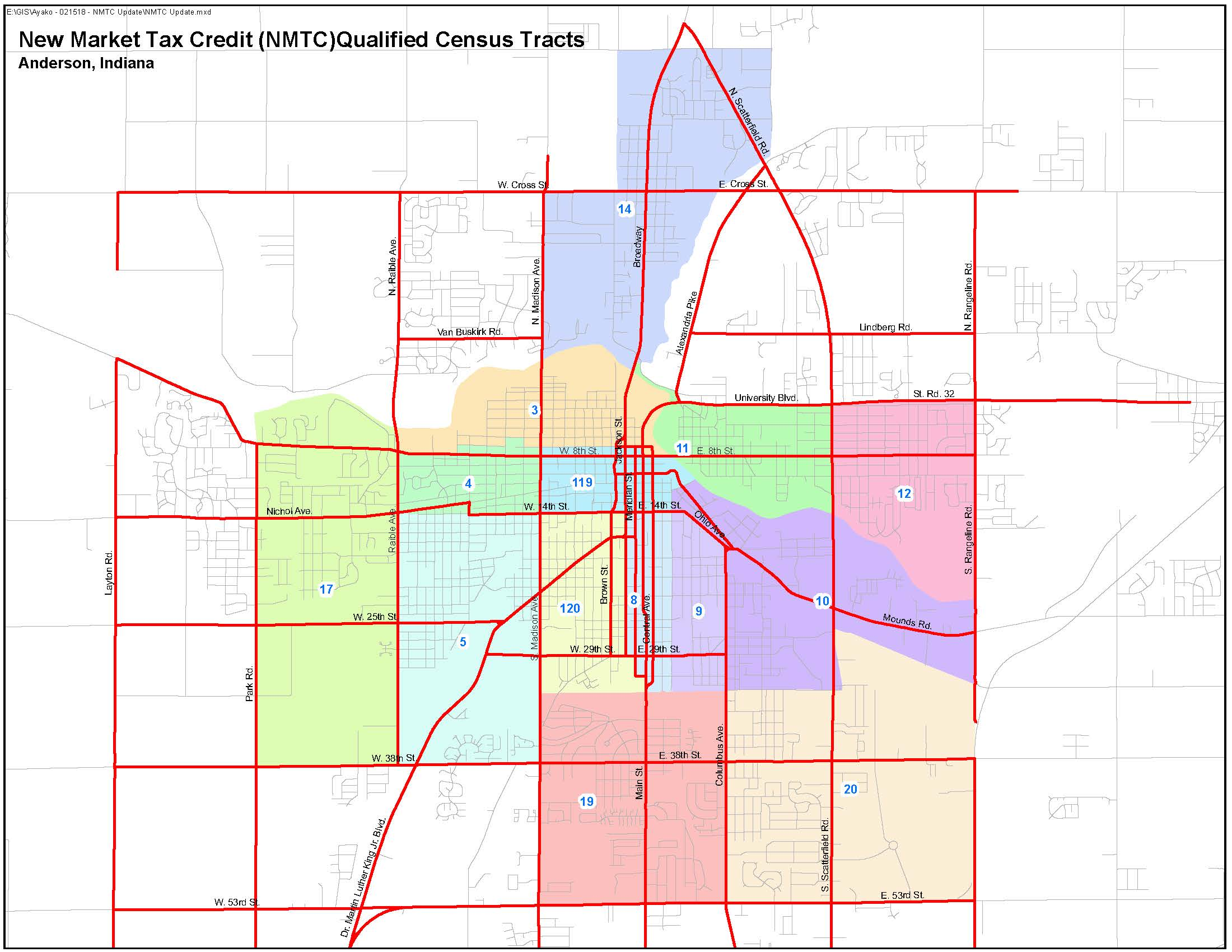 New Market Tax Credit Qualified Census Tracts